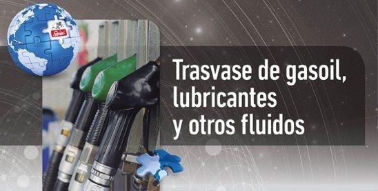 Trasvase de gasoil, lubricantes y otros fluidos